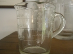 My favourite glass jug, great for baking.